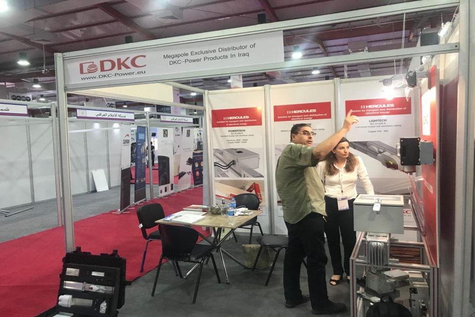Erbil Internasional Exhibition - DKC Power
